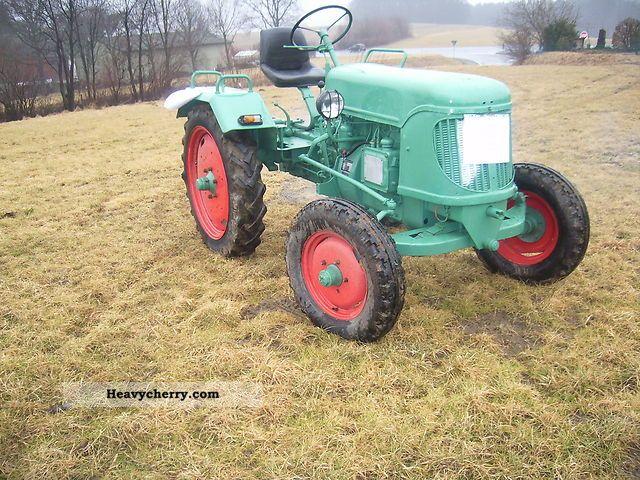 1951 Guldner  Güldner AF 15 Agricultural vehicle Tractor photo