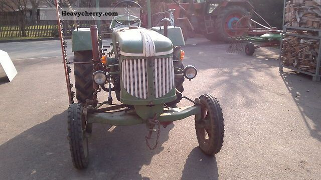 1958 Guldner  Güldner ADN10 W Agricultural vehicle Tractor photo