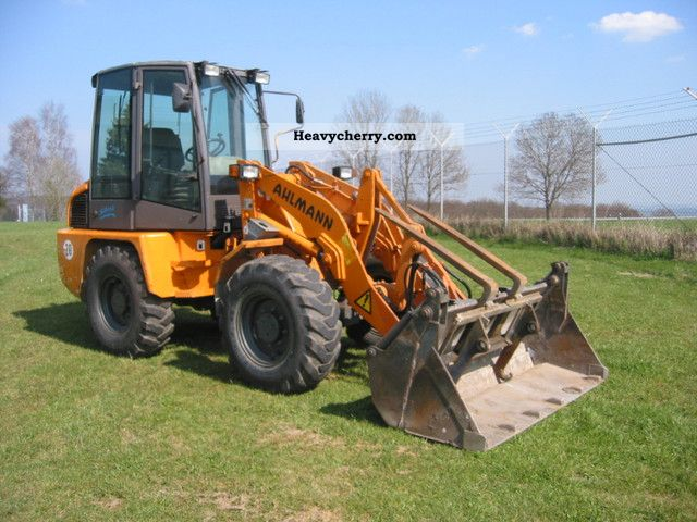 1999 Ahlmann  AL 95, only 2670 hours, shovel and fork! Construction machine Wheeled loader photo