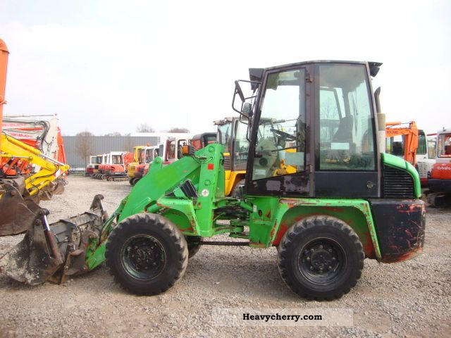1998 Ahlmann  AL65 Construction machine Wheeled loader photo
