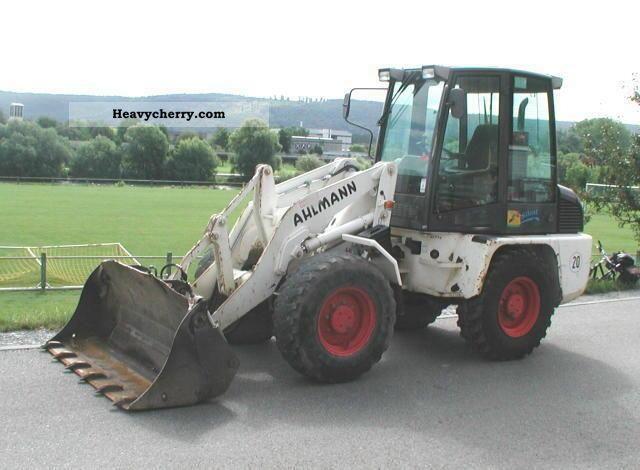 2003 Ahlmann  AL 100 Construction machine Wheeled loader photo