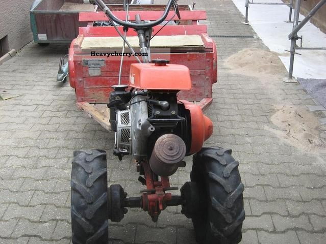 1979 Hako  6 hp Agricultural vehicle Other substructures photo