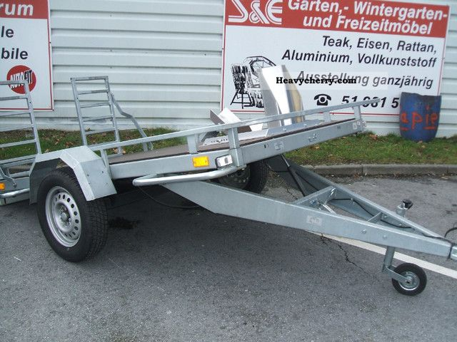 2011 Neptun  Cago trailers. Used / rental vehicle Trailer Motortcycle Trailer photo