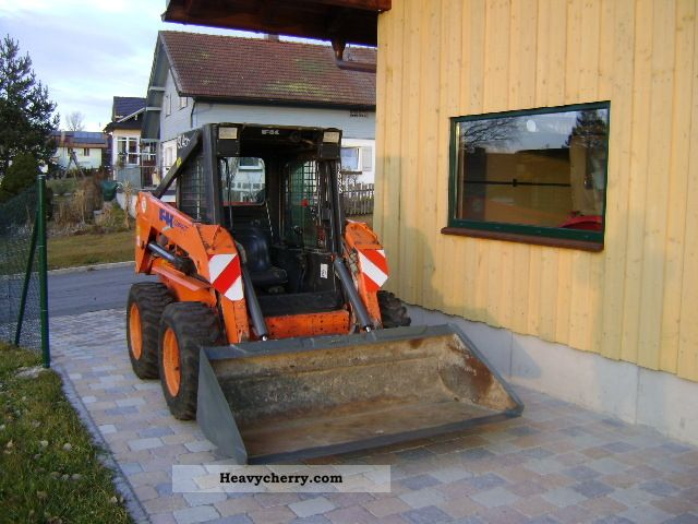 2004 Kobelco  Fiat top condition SL 45 Construction machine Wheeled loader photo