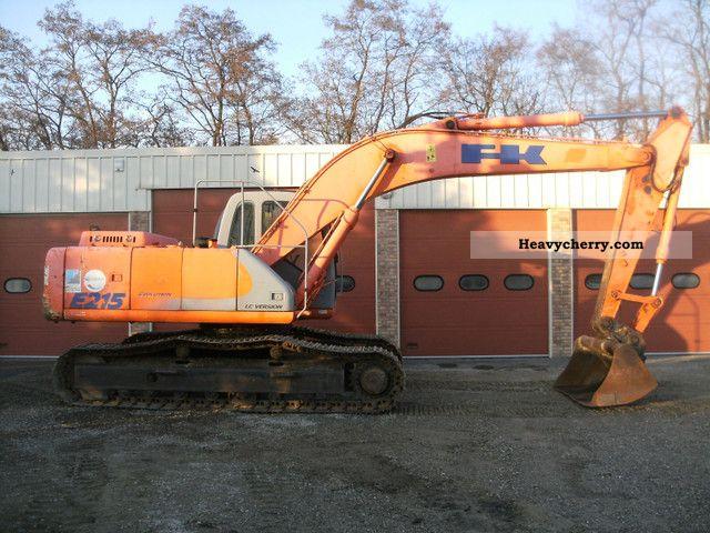 2003 Kobelco  E 215 LC Construction machine Mobile digger photo