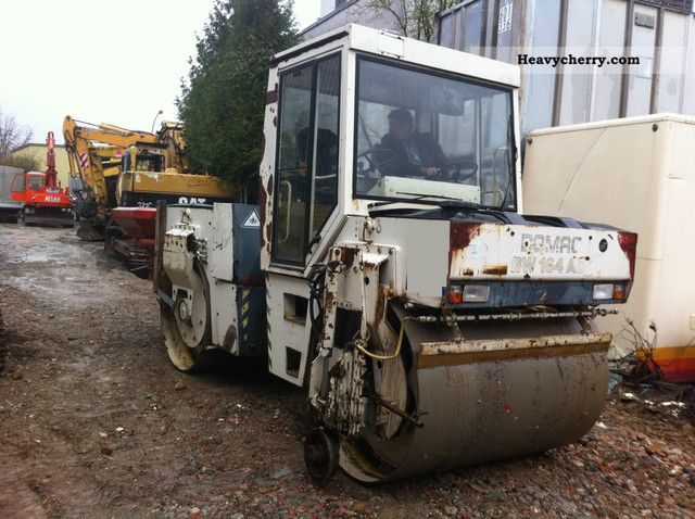 1992 BOMAG  164 AD built 1992 / spreader / 1.HAND / TOP! Construction machine Rollers photo