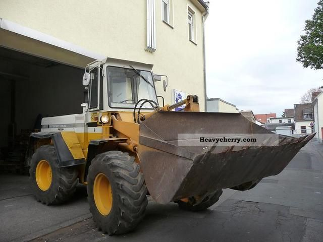 1979 IHC  515 international Construction machine Wheeled loader photo