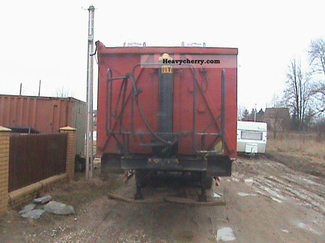 2008 Zaslaw  Zaslaw stalowa wywrotka klapo-drzwi Semi-trailer Tipper photo