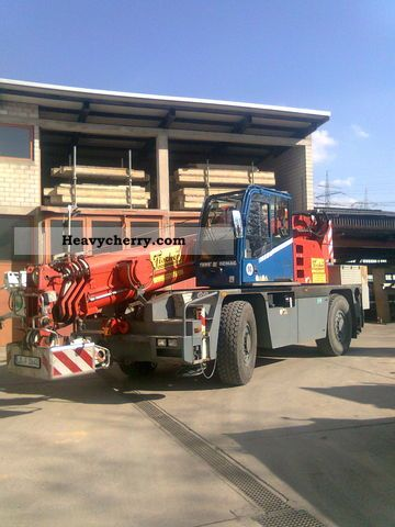 2003 Demag  AC 30 City Truck over 7.5t Truck-mounted crane photo