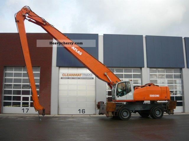 2003 Atlas  Terex 5005 ton C 94.6 I 57! Construction machine Mobile digger photo