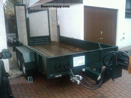 1995 Blomenrohr  Blomenröhr trailer with ramps / 3500 kg Trailer Low loader photo