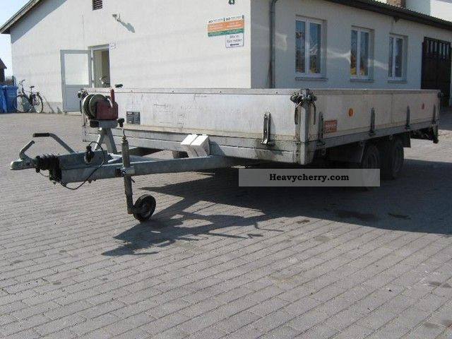 1999 Kroeger  Universal loaders 1890kg payload Trailer Low loader photo