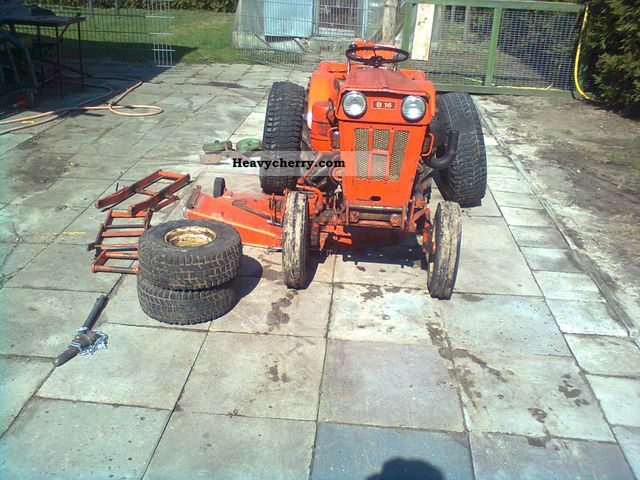 holder b16 1973 agricultural tractor photo and specs