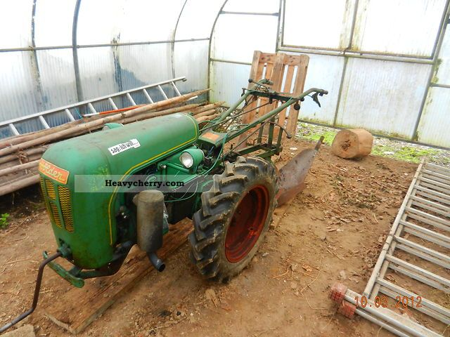 2011 Holder  Cultivators E 10 Agricultural vehicle Tractor photo