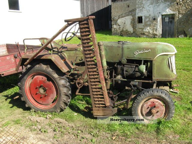1953 Guldner  Güldner ADN8 Agricultural vehicle Tractor photo