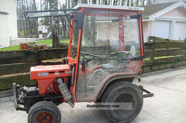 1991 Kubota  B 4200 D Agricultural vehicle Tractor photo