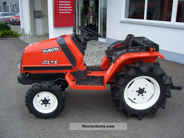 2011 Kubota  A 17 Agricultural vehicle Tractor photo