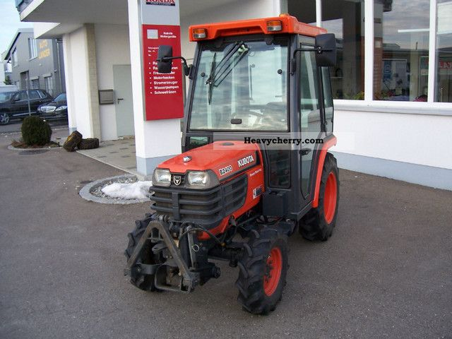 1998 Kubota  B 2400 HST, cab, front PTO Agricultural vehicle Tractor photo