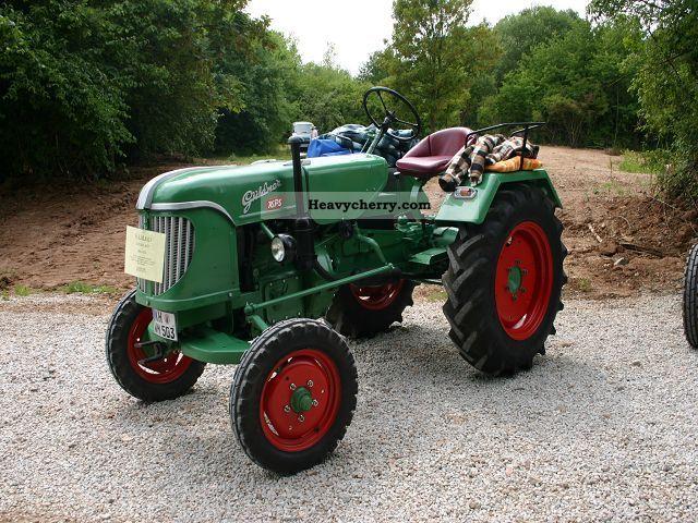 1955 Guldner  Güldner ADN 8 H Agricultural vehicle Tractor photo