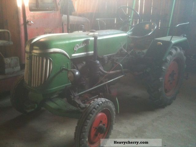 1955 Guldner  Güldner 1.Hand, 2 cyl., Deck, mint condition! Agricultural vehicle Tractor photo