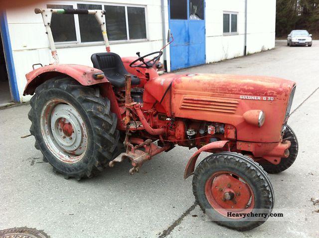 1966 Guldner  Guldner G 30 S Agricultural vehicle Tractor photo