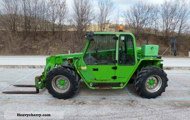 Merlo P26 6 Cp 2001 Telescopic Lift Truck Photo And Specs