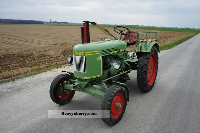 fendt diesel ross f24 1956 agricultural tractor photo and. Black Bedroom Furniture Sets. Home Design Ideas