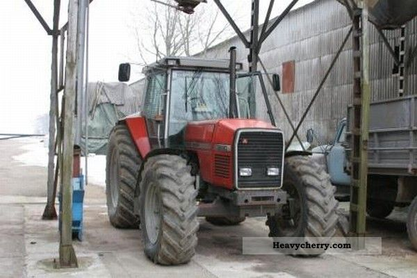 1992 Massey Ferguson  3690 Agricultural vehicle Tractor photo