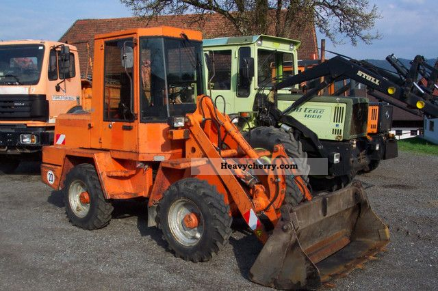 1991 Schaeff  SKL state in a very neat 821 Construction machine Wheeled loader photo