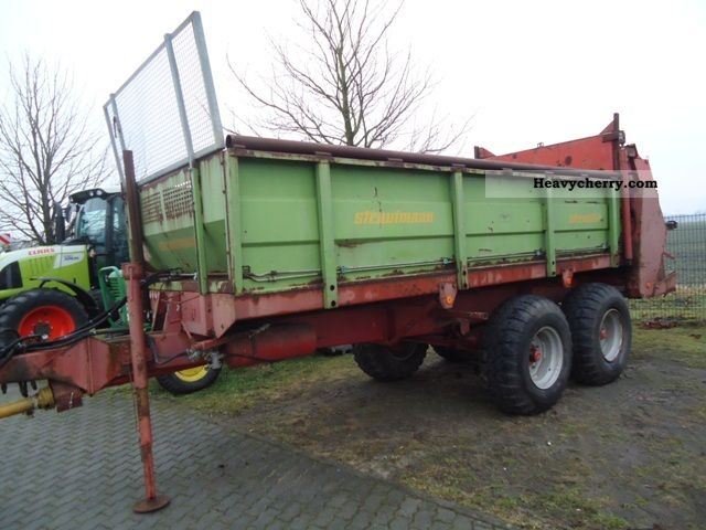 1994 Strautmann  Stray lightning VS 10 - Manure spreaders Agricultural vehicle Other agricultural vehicles photo