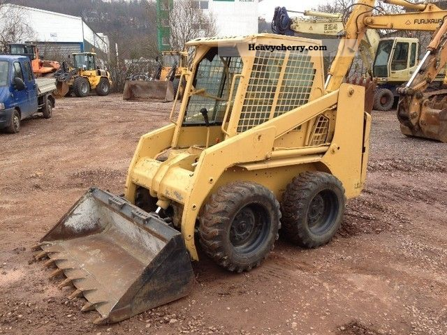 1999 Bobcat  753 ** BJ ** 1999/3200Bstd/Sw/3ter control circuit Construction machine Mini/Kompact-digger photo