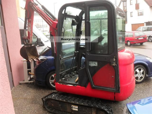 2003 Bobcat  322 Construction machine Mini/Kompact-digger photo