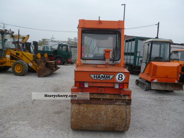 1992 Hamm  D322 Construction machine Rollers photo
