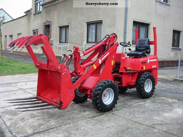 2007 Weidemann  Skid-1030 CX 20 CROCODILE WITH TEETH!! Agricultural vehicle Farmyard tractor photo
