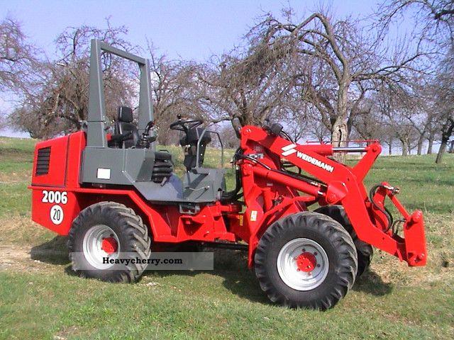 2006 Weidemann  P50 2006 Agricultural vehicle Farmyard tractor photo