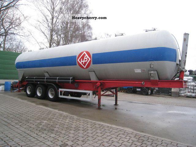 1989 Feldbinder  KIP 60.3 Semi-trailer Tank body photo