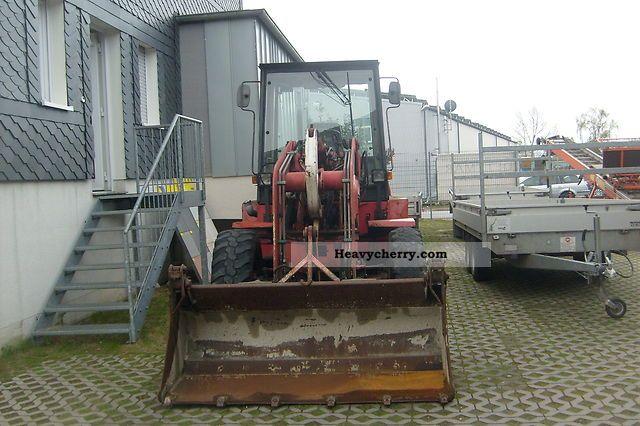 1997 Ahlmann  S 6 Construction machine Wheeled loader photo