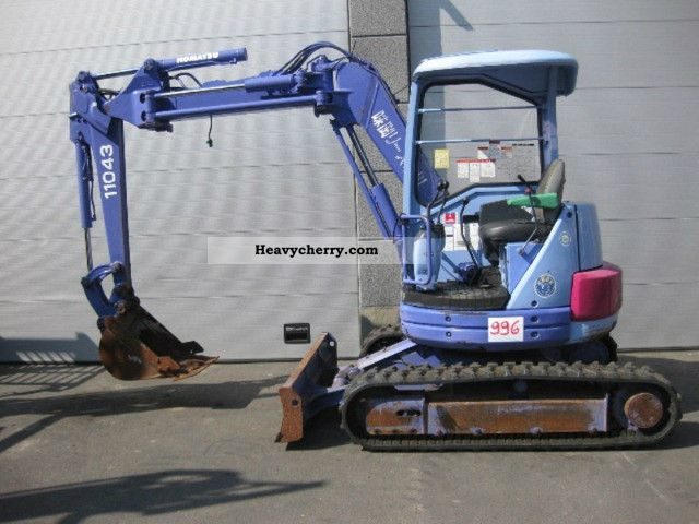 1998 Komatsu  PC38UUM-2 (996) Construction machine Mini/Kompact-digger photo
