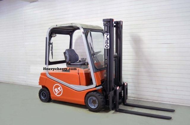 2003 BT  CBE 20F, SS, FREE LIFT, HALF CABIN ONLY 2197Bts! Forklift truck Front-mounted forklift truck photo