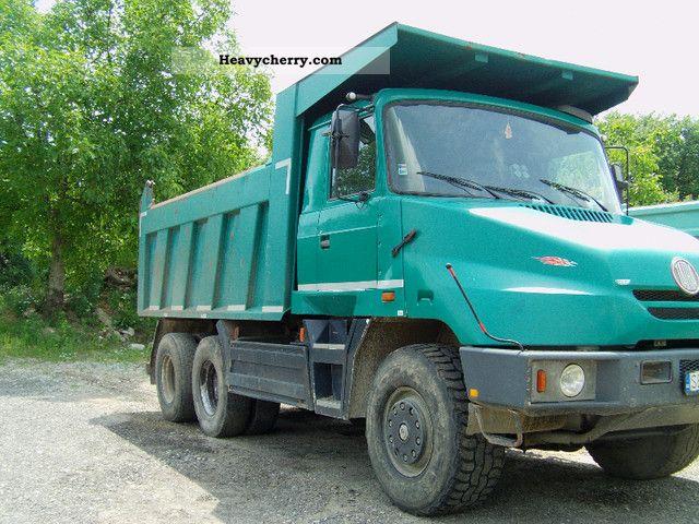 2003 Tatra  terno Truck over 7.5t Tipper photo