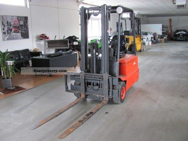 1999 Linde  E 16 S Forklift truck Front-mounted forklift truck photo