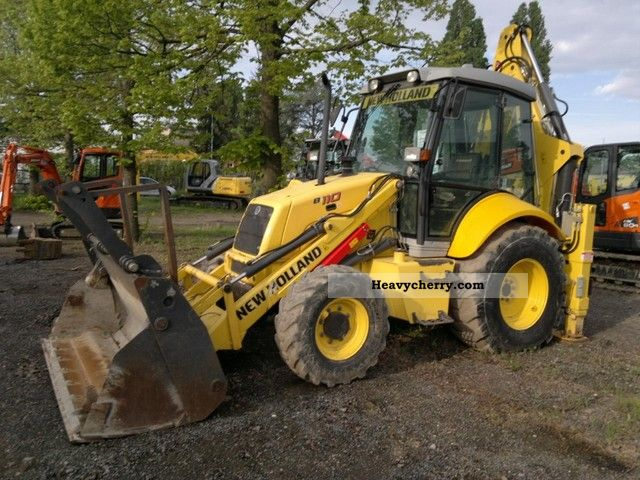 2007 New Holland  LB 110 Construction machine Wheeled loader photo