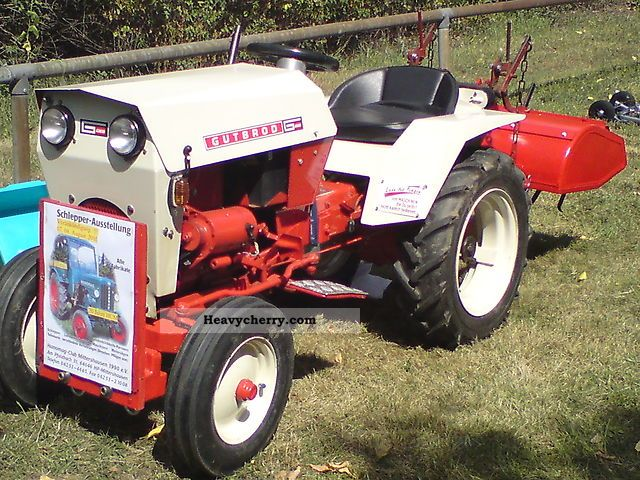 1969 Gutbrod  1050 Agricultural vehicle Tractor photo