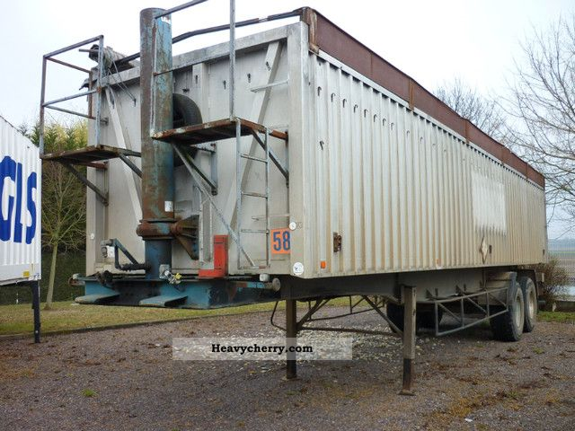 1981 Trailor  ALU TIPPER 60 M3 11.80m long Semi-trailer Tipper photo