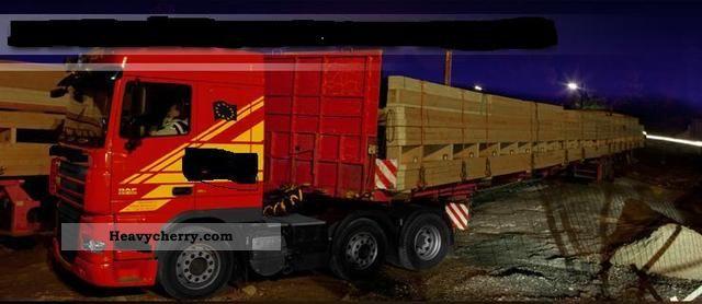 2003 Faymonville  SPZ-3AA Semi-trailer Long material transporter photo