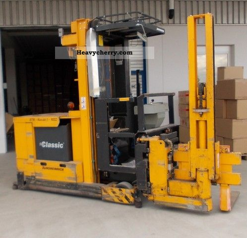 1993 Jungheinrich  1022 ETX Combi I Forklift truck Other forklift trucks photo