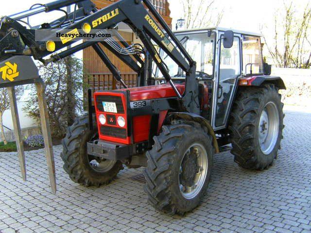1990 Agco / Massey Ferguson  393 Agricultural vehicle Tractor photo