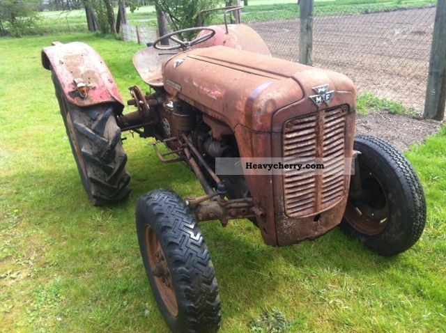 1957 Agco / Massey Ferguson  FE 35 Agricultural vehicle Tractor photo