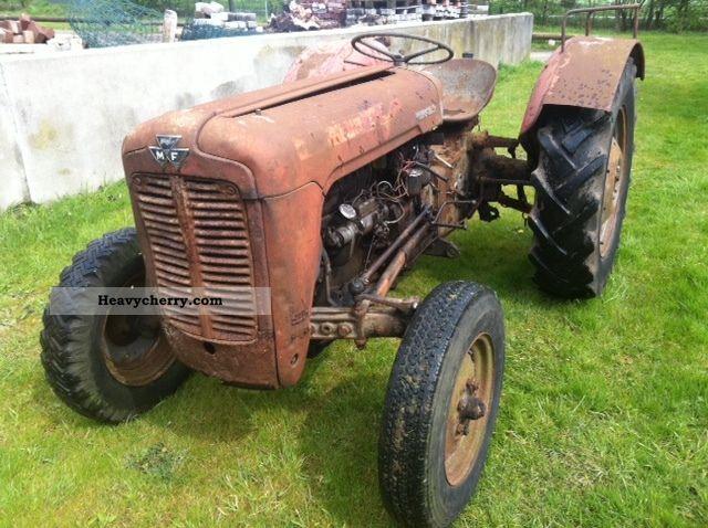 agco massey ferguson fe 35 1957 agricultural tractor. Black Bedroom Furniture Sets. Home Design Ideas