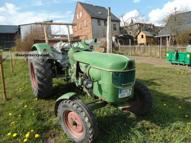 1966 Deutz-Fahr  5005 Agricultural vehicle Tractor photo